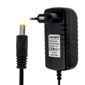Prise EU Adaptateur secteur AC 100-240V à DC 24V 1.5A, embouts: 5,5 x 2,1 mm, longueur du câble: environ 1,2 m (noir) SH5004557-20