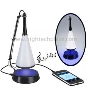 Touch Sensor USB lampe de bureau LED + mini haut-parleur Bluetooth V4.0 (noir) ST131B0-20