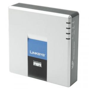 Adaptateur téléphone VOIP PSTN LINKSYS SPA3102 débloqué avec FXS + FXO + 2x ports Ethernet SU01051197-20