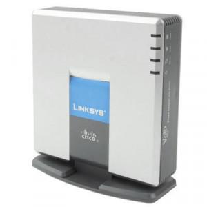 Débloqué LINKSYS SPA9000 VOIP SIP PBX Phone Adapter SU01061138-20