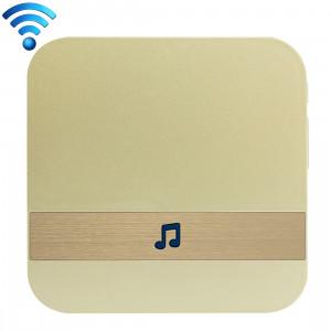 B10 52 carillons 110dB sans fil WiFi récepteur de sonnette à faible consommation d'énergie des outils de porte de maison, prise américaine, ca 90-250V (or) SH103J861-20