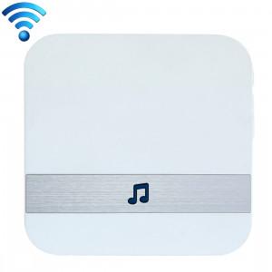 B10 52 carillons 110dB sans fil WiFi Récepteur Sonnette Faible Consommation D'énergie De La Maison Outils De Porte, US Plug, AC 90-250V (Blanc) SH103W52-20
