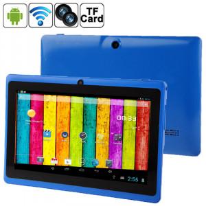 7,0 pouces Tablet PC, 512 Mo + 4 Go, Android 4.2.2, 360 degrés rotation du menu, Allwinner A33 Quad-core, Bluetooth, WiFi (bleu) S788BE409-20