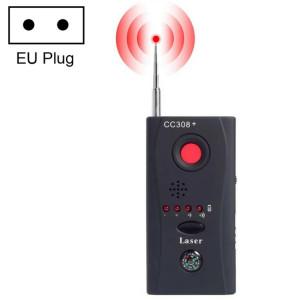 CC308 + Détecteur d'objectif de caméra sans fil Multi Détecteur de signal d'onde radio Détection de périphérique RF GSM à plage complète (Noir) SH01141518-20