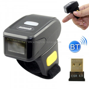 MJ-R30 portable 1D portable anneau mini Bluetooth Barcode Scanner SM15425-20