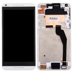 iPartsBuy écran LCD + écran tactile Digitizer Assemblée avec cadre pour HTC Desire 816G / 816H (blanc) SI008W1414-20