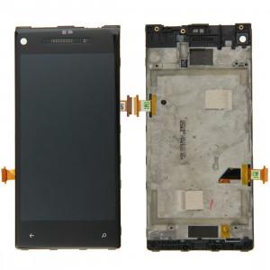 iPartsBuy écran LCD + écran tactile Digitizer Assemblée avec cadre pour HTC 8X (Noir) SI009B1594-20