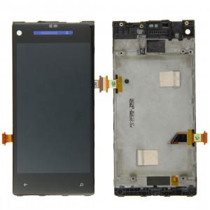 iPartsBuy écran LCD + écran tactile Digitizer Assemblée avec cadre pour HTC 8X (bleu foncé) SI009D1503-20