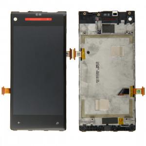 iPartsBuy écran LCD + écran tactile Digitizer Assemblée avec cadre pour HTC 8X (rouge) SI009R973-20