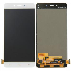 iPartsBuy Écran LCD + écran tactile Digitizer Assemblée pour OnePlus X (blanc) SI015W806-20