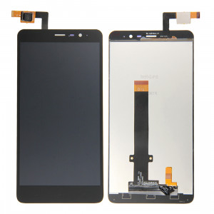 iPartsAcheter pour Xiaomi Redmi Note 3 écran LCD + écran tactile Digitizer Assemblée (Noir) SI0023178-20