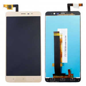 iPartsAcheter pour Xiaomi Redmi Note 3 écran LCD + écran tactile Digitizer Assemblée (or) SI023J80-20