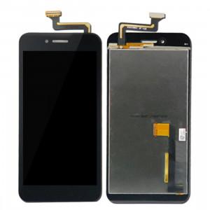 iPartsAcheter pour Asus PadFone S PF500KL / PF-500KL / PF500 / T00N écran LCD + écran tactile Digitizer Assemblée remplacement (Noir) SI039B495-20