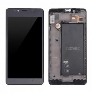 iPartsAcheter pour Microsoft Lumia 950 écran LCD + écran tactile Digitizer Assemblée avec cadre (Noir) SI19BL667-20