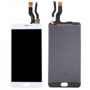 iPartsAcheter pour Meizu Meilan Métal LCD Écran + Écran Tactile Digitizer Assemblée (Blanc) SI168W1173-20