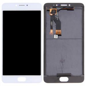 iPartsAcheter Meizu M3 Note / Meilan Note 3 (version chinoise) Écran LCD + écran tactile Digitizer Assemblée (blanc) SI169W236-20