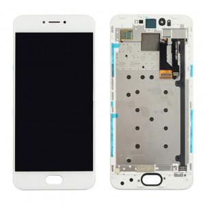 iPartsAcheter Meizu Pro 6 écran LCD + écran tactile Digitizer Assemblée avec cadre (blanc) SI237W284-20