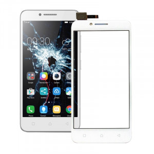 iPartsAcheter Lenovo Vibe C / A2020 écran tactile Digitizer Assemblée (Blanc) SI355W931-20