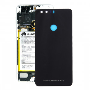 iPartsBuy Huawei Honor 8 Batterie Couverture Arrière (Noir) SI71BL575-20