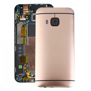 iPartsAcheter pour HTC One M9 Couverture de boîtier arrière (Gold) SI07JL1902-20