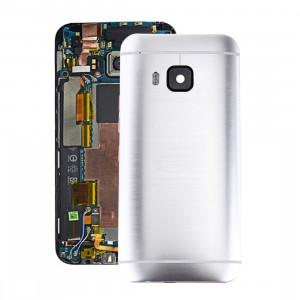iPartsAcheter pour HTC One M9 Couverture de boîtier arrière (Argent) SI07SL796-20