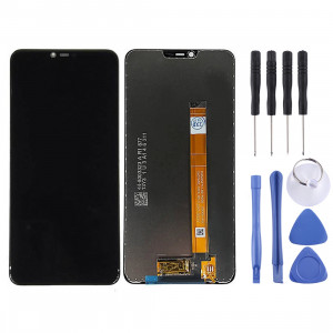 Ecran LCD et Digitizer Full Assembly pour OPPO A5 (Noir) SH928B1105-20