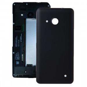 iPartsBuy pour Microsoft Lumia 550 couvercle arrière de la batterie (noir) SI04BL280-20