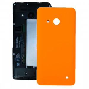 iPartsBuy pour Microsoft Lumia 550 couvercle arrière de la batterie (Orange) SI04EL423-20