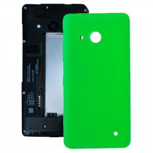 iPartsAcheter pour Microsoft Lumia 550 couvercle arrière de la batterie (vert) SI04GL811-20