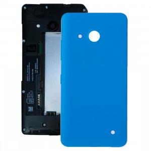 iPartsBuy pour Microsoft Lumia 550 couvercle de la batterie arrière (bleu) SI04LL447-20