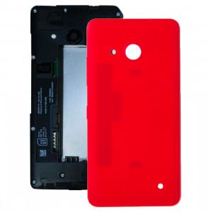 iPartsAcheter pour Microsoft Lumia 550 couvercle arrière de la batterie (rouge) SI04RL709-20