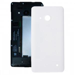 iPartsBuy pour Microsoft Lumia 550 couvercle arrière de la batterie (blanc) SI04WL283-20