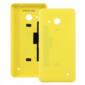 iPartsAcheter pour Microsoft Lumia 550 couvercle arrière de la batterie (jaune) SI04YL1002-20