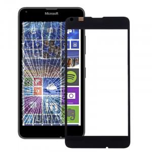 iPartsBuy pour Microsoft Lumia 640 lentille extérieure en verre d'écran avant (noir) SI50BL86-20