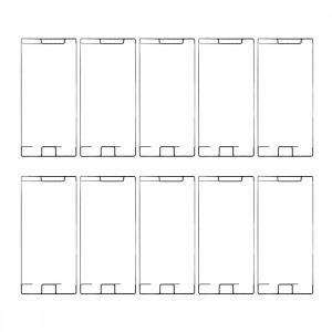 10 PCS iPartsAcheter pour Sony Xperia XZ Premium Adhésif pour boîtier avant S11178553-20