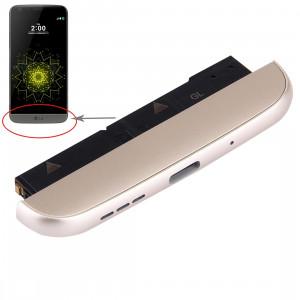 iPartsAcheter pour LG G5 / F700L (Chargeur Dock + Microphone + Haut-parleur Ringer Buzzer) Module (Or) SI63JL1414-20