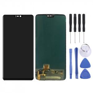 Écran LCD et numériseur complet pour OnePlus 6 (noir) SH349B821-20