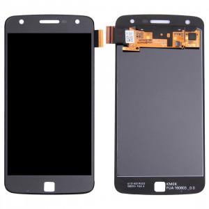iPartsAcheter pour Motorola Moto Z Play Original Écran LCD + Original Écran Tactile Digitizer Assemblée (Noir) SI480B1237-20