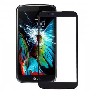 iPartsAcheter pour LG K10 Lentille extérieure en verre (Noir) SI91BL221-20
