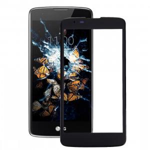 iPartsAcheter pour LG K8 Lentille extérieure en verre (Noir) SI97BL1593-20