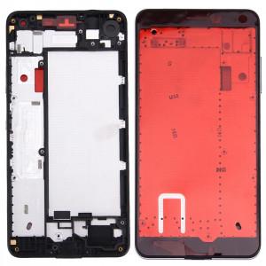 iPartsAcheter pour Microsoft Lumia 650 Boîtier Avant Cadre LCD Cadre (Noir) SI960B1318-20