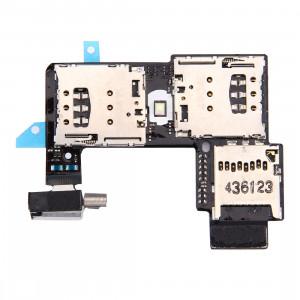 iPartsAcheter pour Motorola Moto G (2e génération) (Dual SIM Version) Socket de carte SIM + Socket de carte SD SI21531953-20