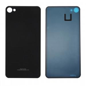 iPartsAcheter Meizu Meilan X couvercle de batterie en verre avec adhésif (noir) SI47BL1431-20