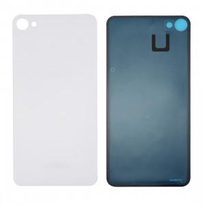 iPartsAcheter Meizu Meilan X couvercle de batterie en verre avec adhésif (blanc) SI47WL496-20