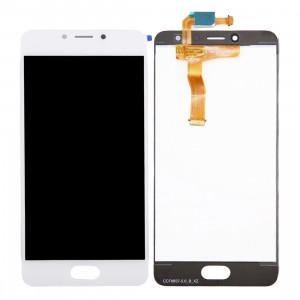 iPartsAcheter Meizu Meilan A5 LCD écran + écran tactile Digitizer Assemblée (blanc) SI518W469-20