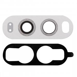 iPartsAcheter pour LG V20 Lentille de la caméra arrière avec adhésif (Blanc) SI881S1486-20