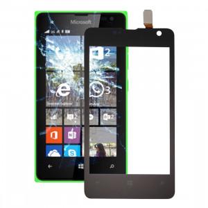 iPartsBuy pour Microsoft Lumia 430 écran tactile numériseur Assemblée SI54BL1576-20