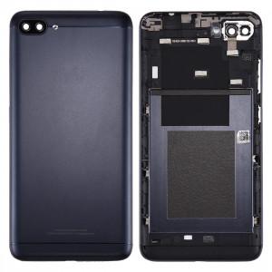 iPartsAcheter pour Asus ZenFone 4 Max / ZC554KL Arrière Cache Batterie (Deepsea Noir) SI60BL1719-20