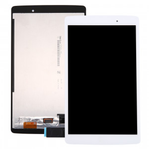 iPartsAcheter pour LG G Pad X 8.0 / V520 écran LCD + écran tactile Digitizer Assemblée (Blanc) SI22WL1041-20