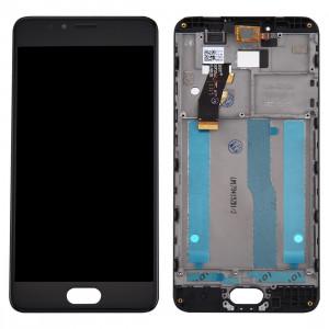 iPartsAcheter Meizu M5s / Meilan 5s écran LCD + écran tactile Digitizer Assemblée avec cadre (Noir) SI634B1432-20